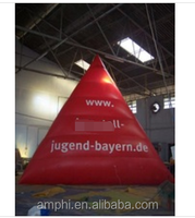 inflatable triangle helium balloon