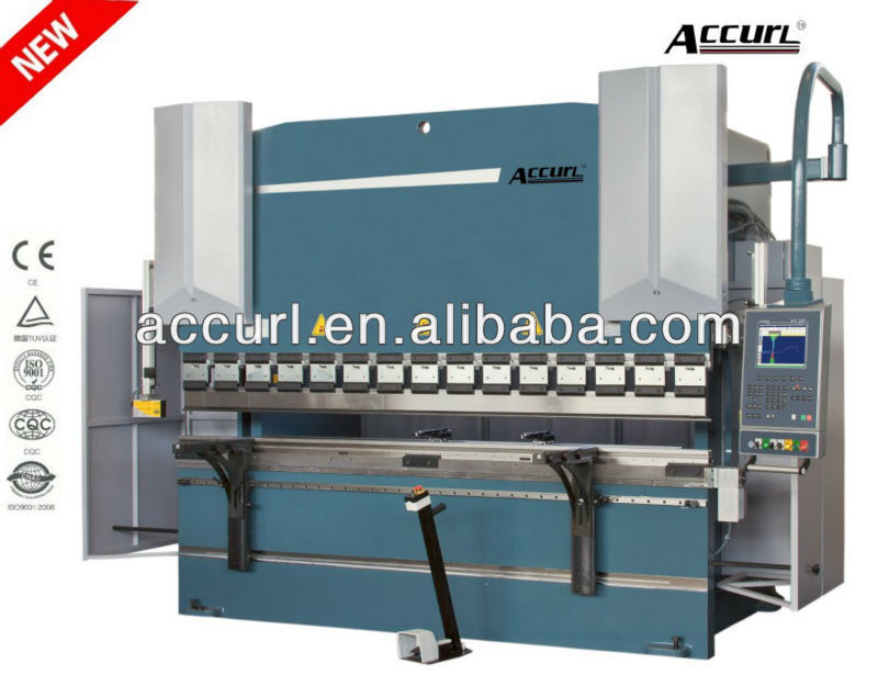 CNC Sheet Metal Plate Bender Hydraulic Bending Machine with 3+1 Axis for Hot Sale