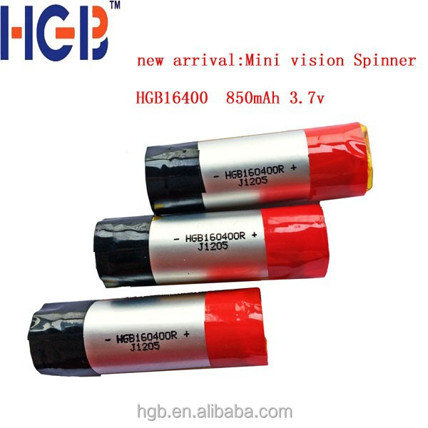 Mini Vision Spinner <strong>battery</strong> 850mah 16400 soft pack E cigarette <strong>battery</strong>