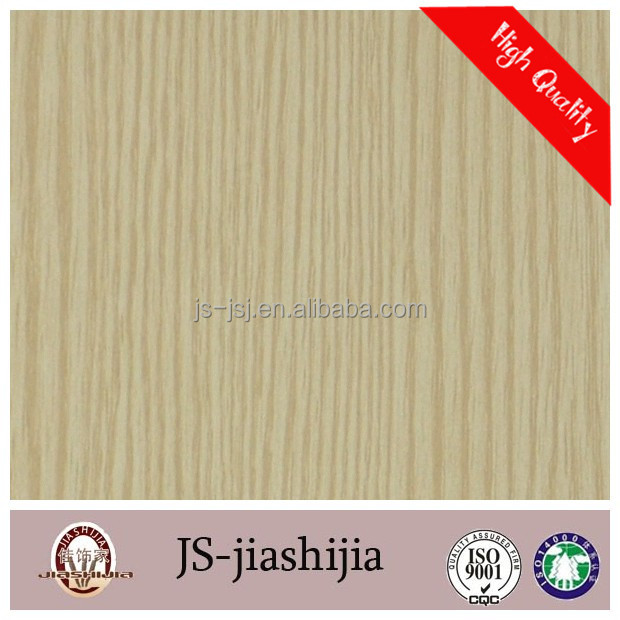 Asia fashion oak high quality wood finish paper made in china