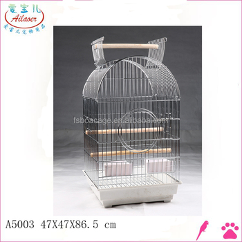 white high canary derecotive wire bird cages manufacturer