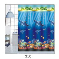 2016 Fashionable 3D Printing Shower Curtain