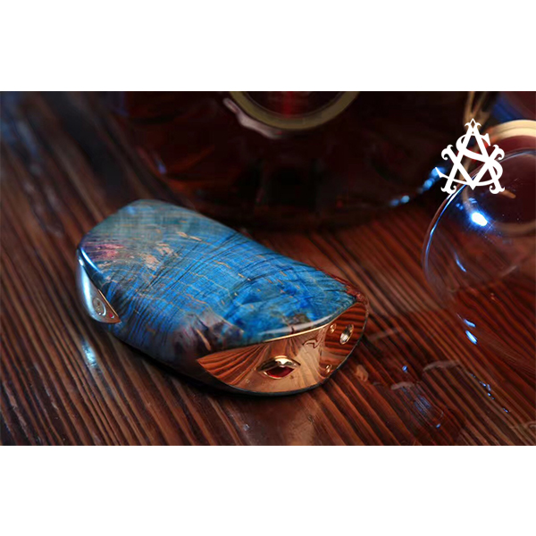 asvape 240w lucifer beautiful stabilized wood box mod bottom feeder