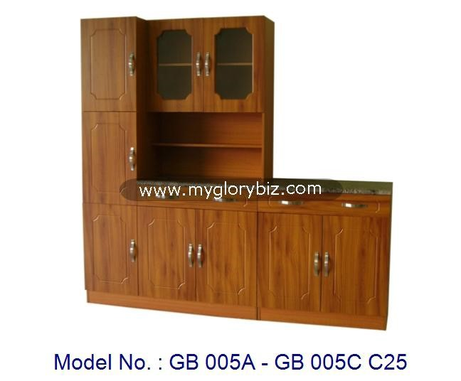 New Designs Complete MDF Modular Kitchen Cabinet Combination In Different Set For Home