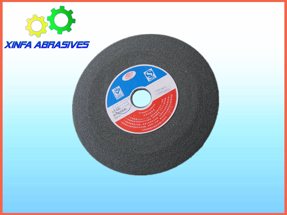 "XINFA 8"" tapered side metal polishing grinding stone for alloy steel"