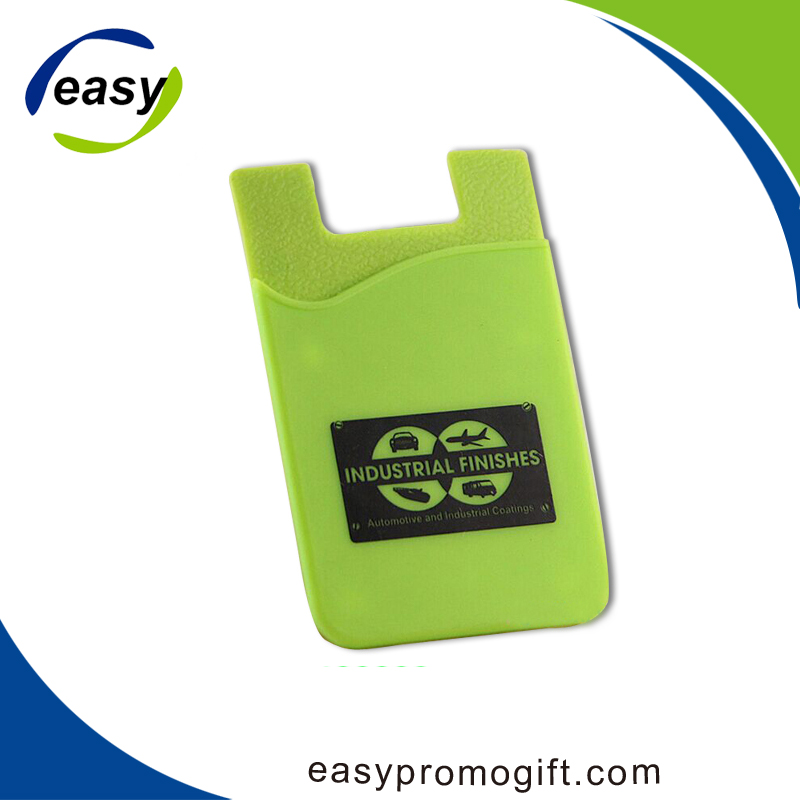 Promotional 3m sticker cell phone credit card holder