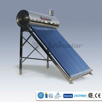 High Quality Compact non pressurized Solar Water Heater