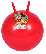 Inflatable Sticker Bouncy Ball With Claw Handles
