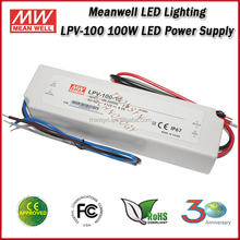Meanwell LED Driver LPV-100-12 Constant Voltage LED Driver 8.5A 100W 12V Switching Power Supply