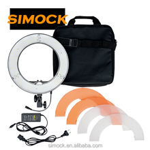 Ring LED video light for Portrait Photography