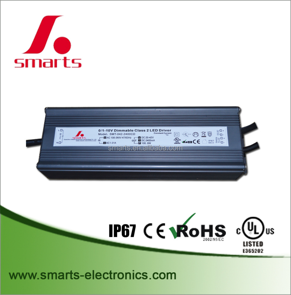 2100ma constant current pwm 0-10v dimming led driver