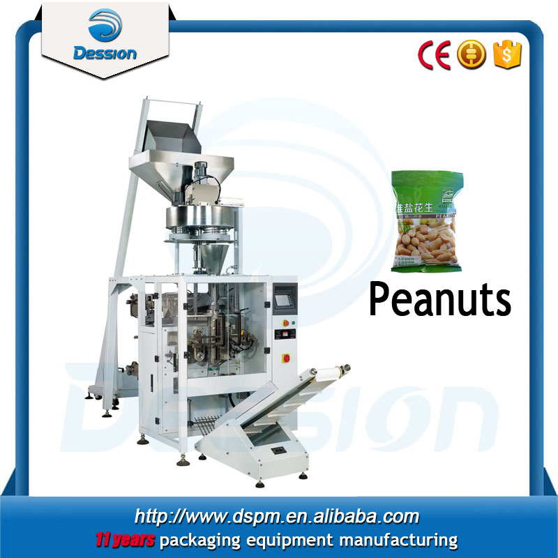 1kg 2kg 3kg Stand Up Pouch flour coated peanuts granule Packing Machine