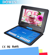 china factory wholesale USB SD GAME TV 11.6 Inch Portable DVD Player Digital LED Screen With Super Power Lithium Battery Inside