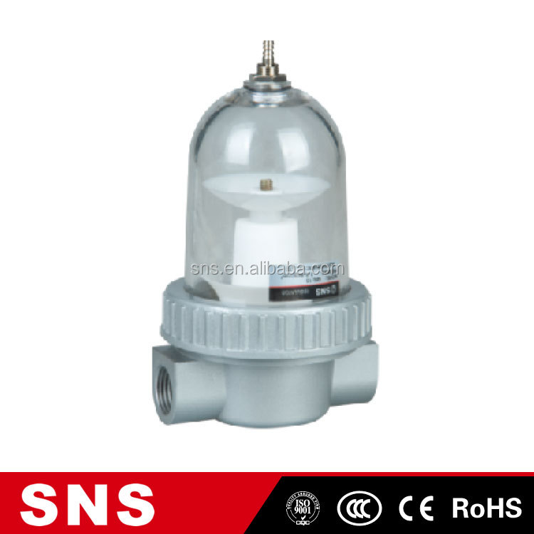 SNS(qsl-15) high quality alkaline water air oil cactivated arbon fuel pressure hepa sand cartridge canister nitrogen gas filter