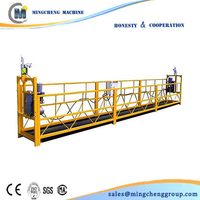 Supply suspended adjustable work platform portable