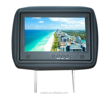 "9"" Screen Size and Headrest Placement 10.1 inch lcd taxi car headrest android monitor"