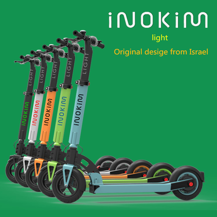 Famous brand iNOKiM in China 2016 new electric double seat mobility scooter with high quality