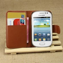 Flip Leather Wallet Cover Case For Samsung Galaxy Fame S6810