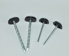 High Quality Galvanized Umbrella Roofing Nails With Rubber Washer