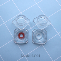 Factory directly wholesale cheap crystal contact lens case