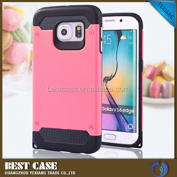 TPU + pc hybrid back case for sumsung j5 j7 phone cover