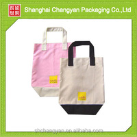 Customized promotional plain canvas bags (CA-1)