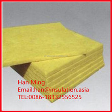 Roofing Fiberglass Insulation duct Wrap Low density glass wool insulation for flat plate
