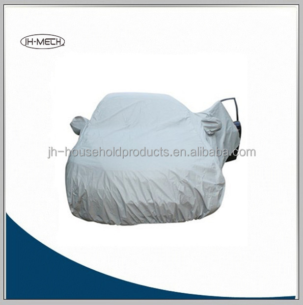 OEM peva/polyester/pvc car cover with zipper
