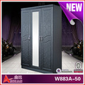 W883A-50 wooden furniture clothes cabinet/clothes cabinet design/clothes cabinet