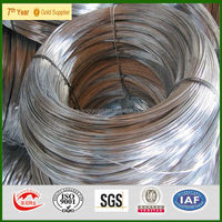 binding wire for construction/SGS Durable quality BWG1-41 hot dip electro galvanized iron wire