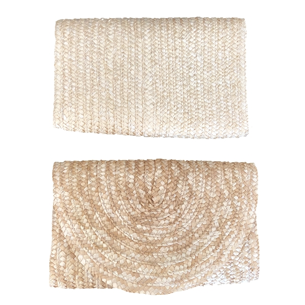 2017 Shandong Hot Selling Wheat Straw Clutch Bag
