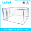10x10x6 foot classic galvanized outdoor dog kennel/cheap chain link dog kennels/dog house factory
