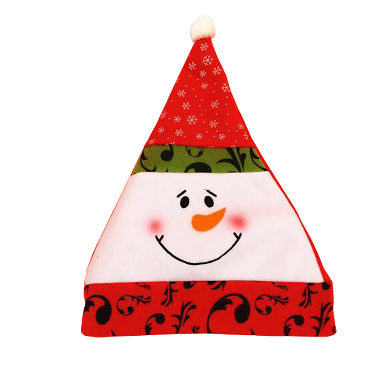Classical Christmas Hat Santa Claus Hat For Christmas Party Decoration