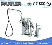 Insulating Glass Sealant Coating Spreading Machine / Two Component Sealants machine