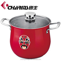 Charms large cooking induction stainless steel sauce pot