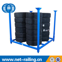 Heavy duty Q235 tire/truck rack/racking for sale