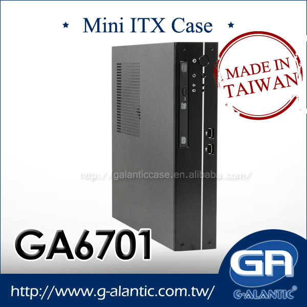 GA6701 - Mini ITX Industrial PC for security support Intel Core i3, i5, and i7 mini itx motherboard