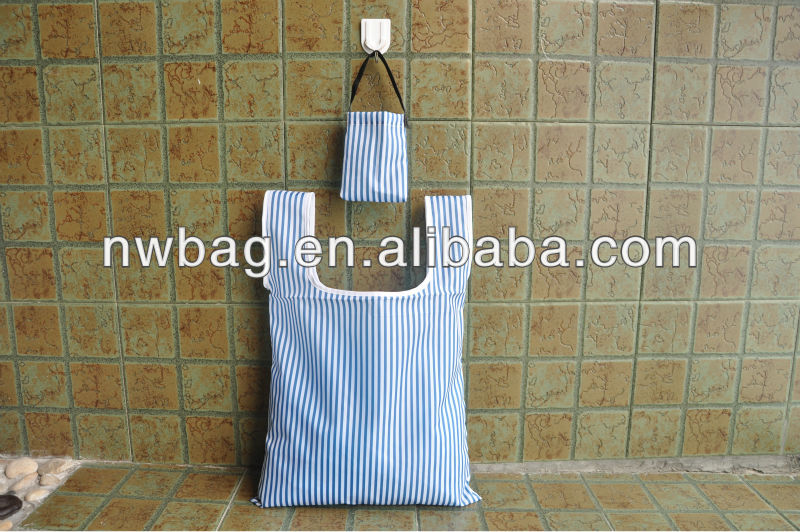 2013 Polyester Folding Promotional Bag