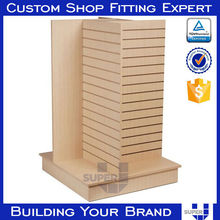 custom winter coats 3 sided display stand decor fixtures