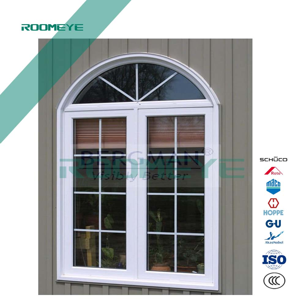 ROOMEYE modern house window grill design PVC window