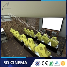 Theme Park Low Invest Project Mini Hot Sale 5D/7D Cinema 5D Theater Equipment
