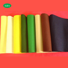 Colored Fabric Felt Needle Punched Nonwoven