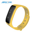2017 APPSCOMM Smart Watch Waterproof Pedometer Watches Bluetooth Bracelet with Calls Reminder for Iphone and Android