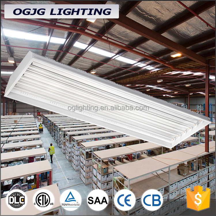 alibaba 150w 200w recessed pendant batten fitting warehouse lighting led linear high bay light