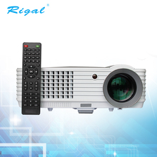 High brightness full HD wifi home theater video mobile phone projector with telecontrol