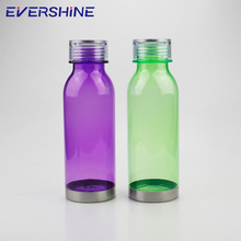 New design customized color green 500ml plain plastic water bottles for sale