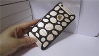 100% Real Pure Carbon Fiber Protective HOLE Case Cover for iPhone 6 4.7""