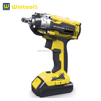 2015 brushless18v cordless electric impact wrench