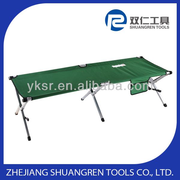 MILITARY FOLDING BED / COT WITH SHOULDER BAG AND FIXATION LEG