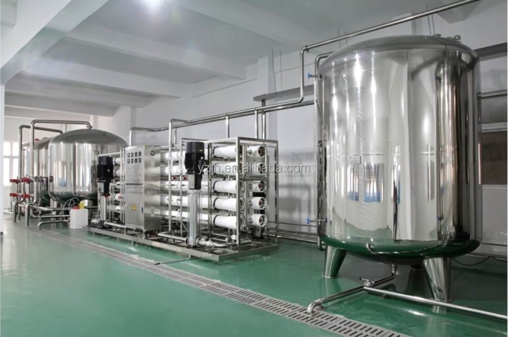 drinking water treatment and purifying machine for selling